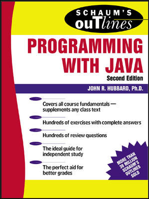 Image of Schaum's Outline Programming With Java
