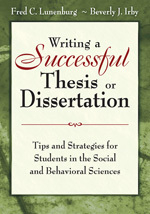 Image of Writing A Successful Thesis Or Dissertation : Tips And Stra-tegies For Students In The Social And Behavioral Sciences