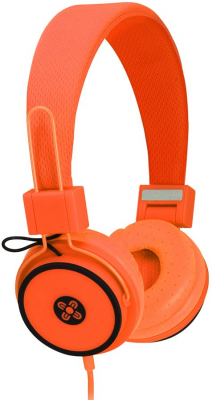 Image of Headphones Moki Hyper Orange Over Ear