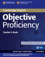 Image of Objective Proficiency : Teachers Book