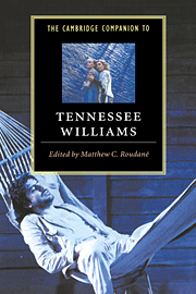Image of Cambridge Companion To Tennessee Williams