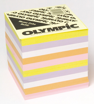 Image of Memo Cube Refill Olympic Full Height