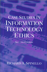 Image of Case Studies In Information Technology Ethics