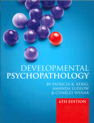 Image of Developmental Psychopathology : From Infancy To Adolescence