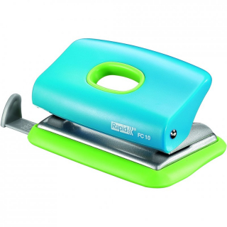 Image of Hole Punch Rapid Funky Fc10 Blue Green