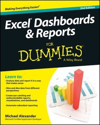 Image of Excel Dashboards And Reports For Dummies