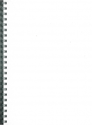 Image of Visual Diary A4 Workbook 140gsm 50 Leaf White Cover