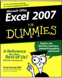 Image of Excel 2007 For Dummies