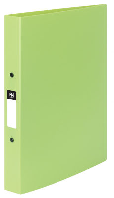 Image of Ringbinder Fm Vivid Pp A4 O Ring 2/25 Lime Green