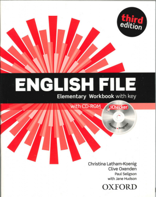 Image of English File : Elementary : Workbook With Key And Ichecker