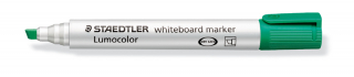Image of Whiteboard Marker Staedtler Lumocolor Chisel Green