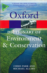 Image of Dictionary Of Environment And Conservation