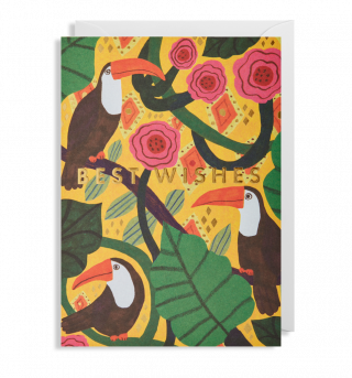 Image of Best Wishes Toucans : Greeting Card