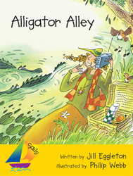 Alligator Alley : Big Book : Sails Shared Reading Year 2