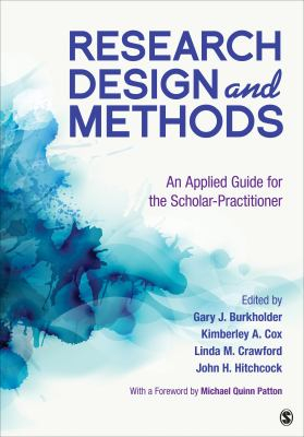 Image of Research Design And Methods : An Applied Guide For The Scholar-practitioner