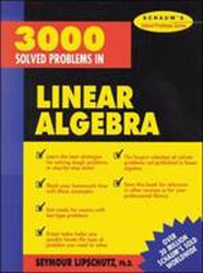 Image of 3000 Solved Problems In Linear Algebra