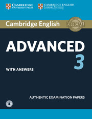 Cambridge English Advanced 3 : Student's Book With Answers With Audio