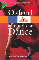 Image of Oxford Dictionary Of Dance