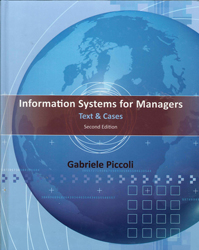 Information Systems For Managers : Text And Cases