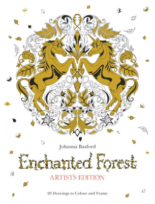 Image of Enchanted Forest Artist's Edition : A Pull-out And Frame Colouring Book