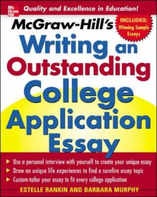Image of Mcgraw-hill's Writing An Outstanding College Application Essay