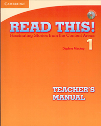 Image of Read This 1 : Teachers Manual With Audio Cd