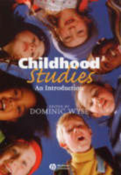 Image of Childhood Studies An Intro