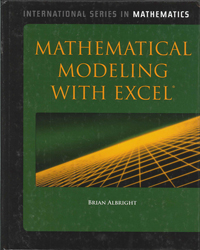Image of Mathematical Modeling With Excel