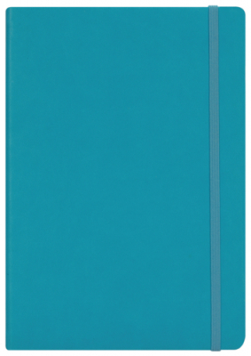 Image of Diary 2018 Collins A53 Colours Pu Blue
