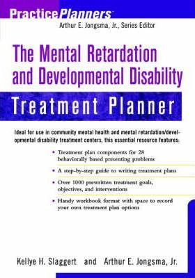 Image of The Mental Retardation And Developmental Disability Treatment Planner