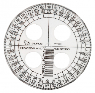 Image of Protractor Taurus Clear 360