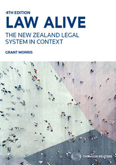 Law Alive : The New Zealand Legal System In Context