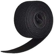 Velcro Hook And Loop Black 1m