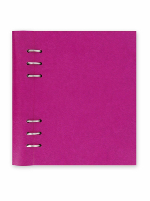 Image of Notebook Filofax Clipbook A5 Fuchsia