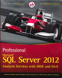 Image of Professional Microsoft Sql Server 2012 Analysis Services With Mdx