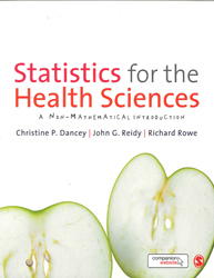 Image of Statistics For The Health Sciences : A Non Mathematical Introduction