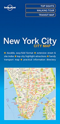 Image of New York City City Map : Lonely Planet