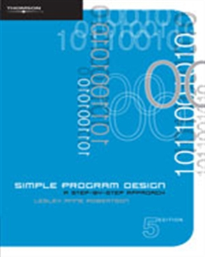 Image of Simple Program Design : A Step By Step Approach