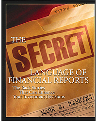 Image of Secret Language Of Financial Reports The Back Stories That Can Enhance Your Investment Decisions