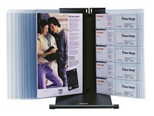 Image of Esselte Visual Display System With 10 Panels Clear