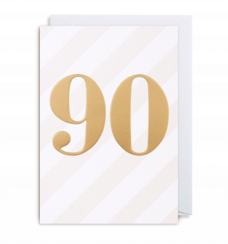Image of 90th Birthday : Greeting Card
