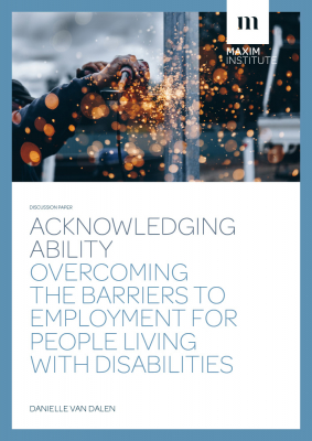 Image of Acknowledging Ability : Overcoming The Barriers To Employment For People Living With Disabilities