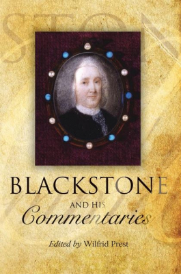 Image of Blackstone And His Commentaries : Biography Law History