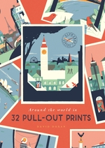 Alphabet Cities : Around The World In 32 Pull-out Prints
