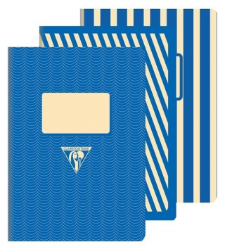Image of Notebook Back To Basics A5 Lined Blue