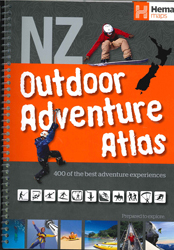Image of New Zealand Outdoor Adventure Atlas