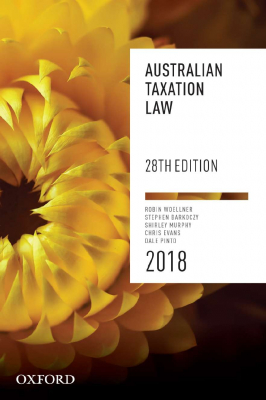 Image of Australian Taxation Law 2018