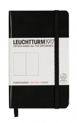 Image of Journal Leuchtturm 1917 Pocket Dotted Black