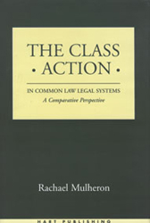 Image of Class Action In Common Law Legal Systems : A Comparative Perspective
