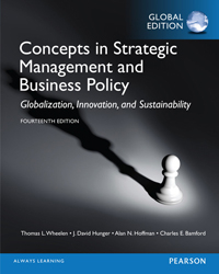 Concepts In Strategic Management And Business Policy : Global Edition